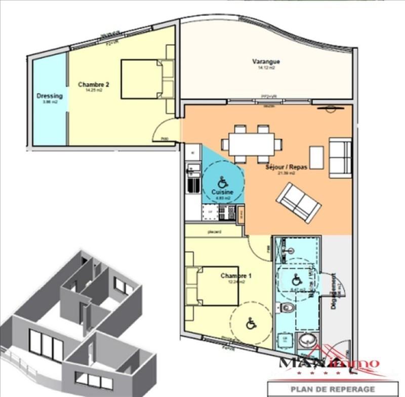 Vente appartement St denis 289200€ - Photo 2