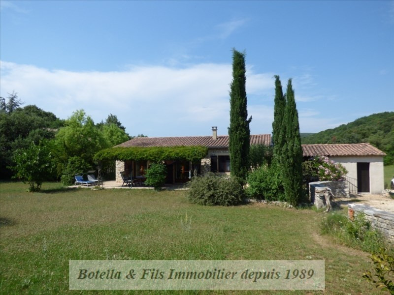 Vente maison / villa Barjac 270000€ - Photo 1