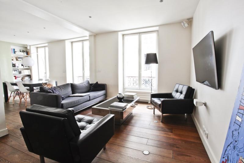Vente de prestige appartement Paris 10ème 1090000€ - Photo 2