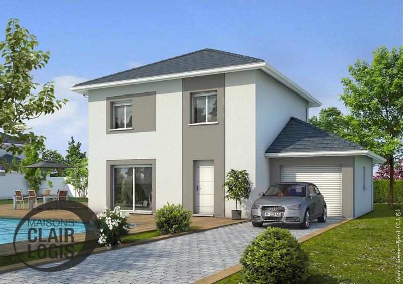 Maison  4 pièces + Terrain 450 m² Saint-Georges-de-Commiers par MAISONS CLAIR LOGIS GRENOBLE