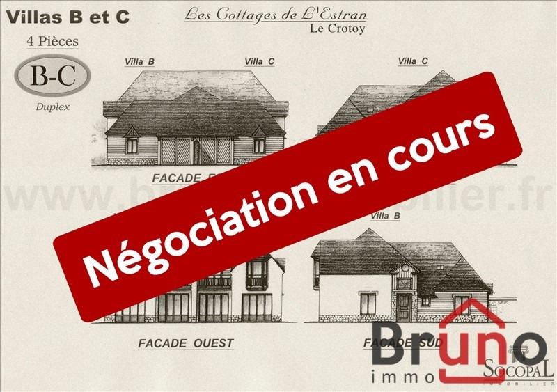 Revenda residencial de prestígio casa Le crotoy 420000€ - Fotografia 1