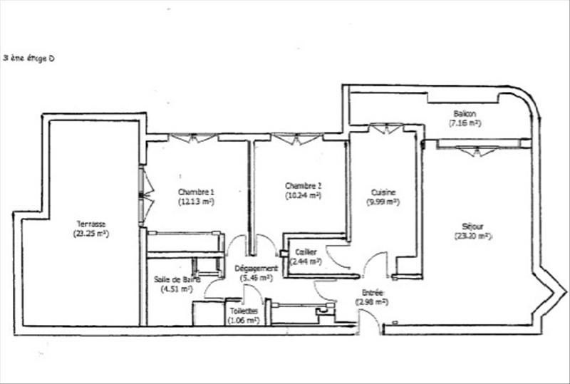 Vente appartement Deuil la barre 193000€ - Photo 5