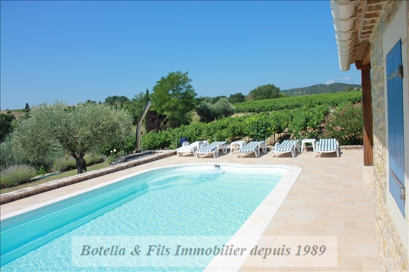 Verkauf von luxusobjekt haus Barjac 695000€ - Fotografie 9