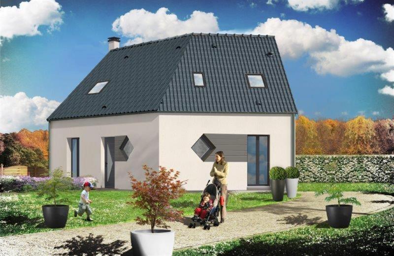 Maison  5 pièces + Terrain 1400 m² Parigné-l'Évêque par RESIDENCES INTER
