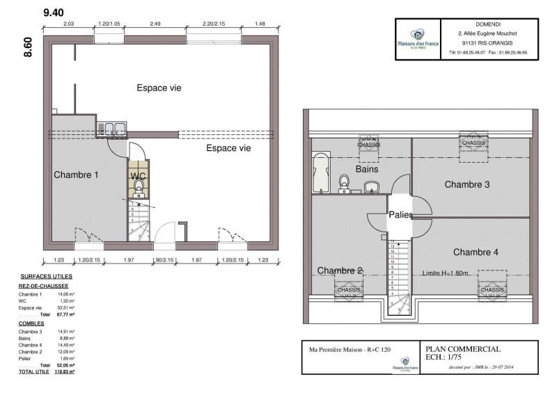 Maison  6 pièces + Terrain 475 m² Étampes par MAISONS D'EN FRANCE