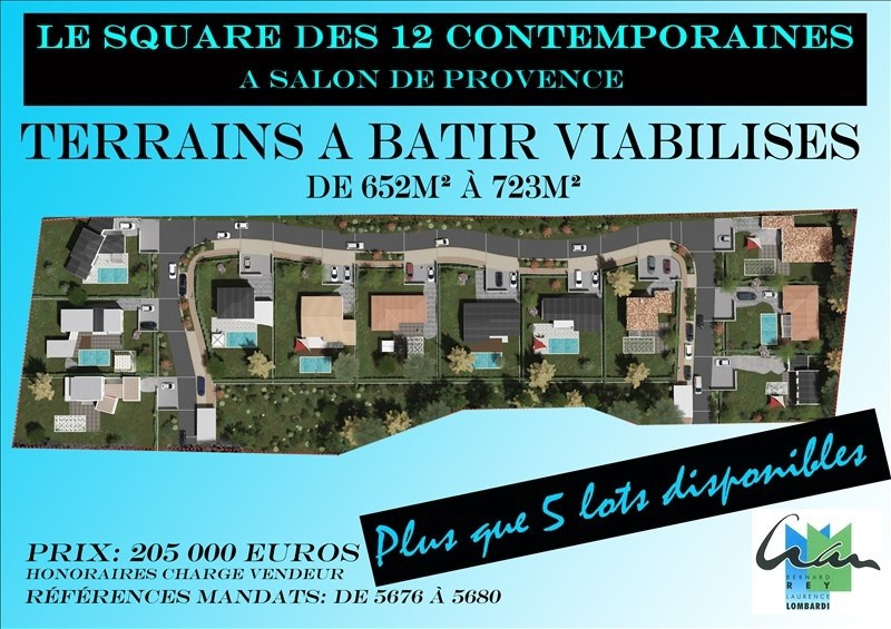 Vente terrain Salon de provence 205 000€ - Photo 5