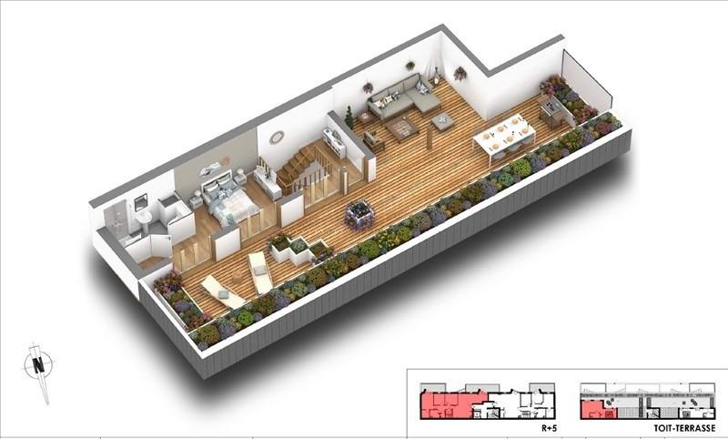 Deluxe sale apartment Courbevoie 1150000€ - Picture 3