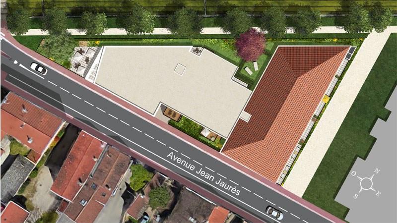 165 avenue jean jaur s programme immobilier neuf decines for Garage bobigny avenue jean jaures
