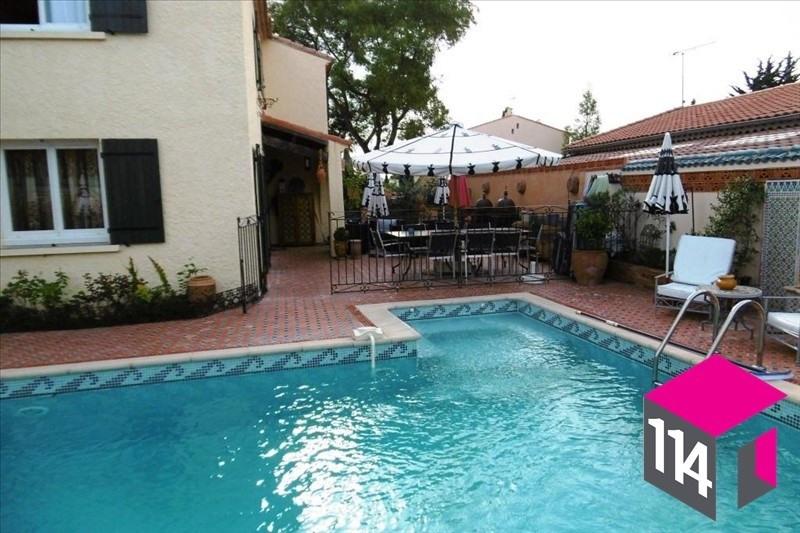 Sale house / villa Saint bres 420000€ - Picture 1