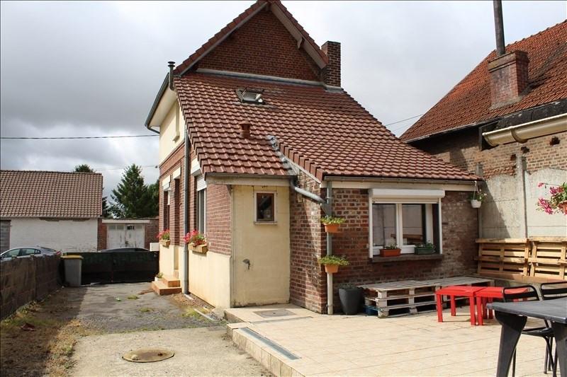 Vente maison / villa Bertincourt 76000€ - Photo 1