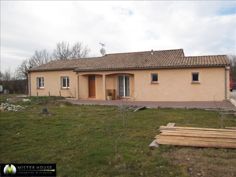 Vendita casa Villebrumier 229500€ - Fotografia 1