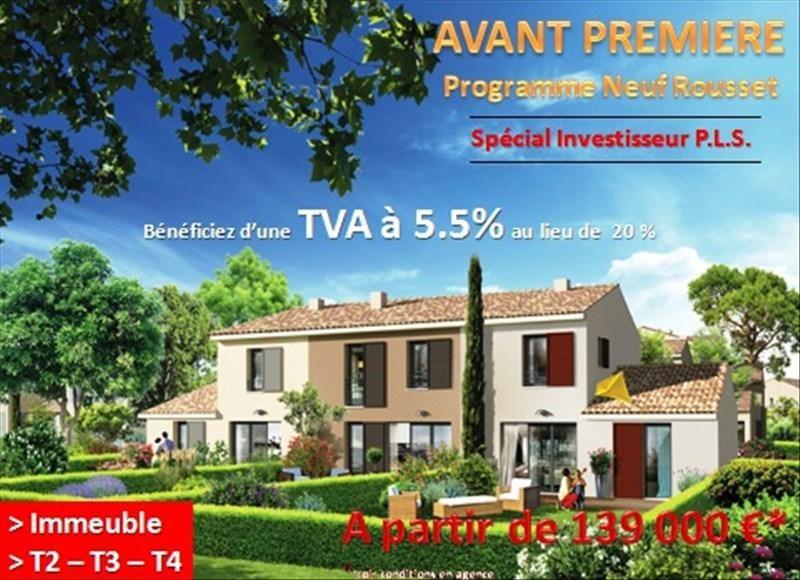 Investimento apartamento Rousset 175000€ - Fotografia 1