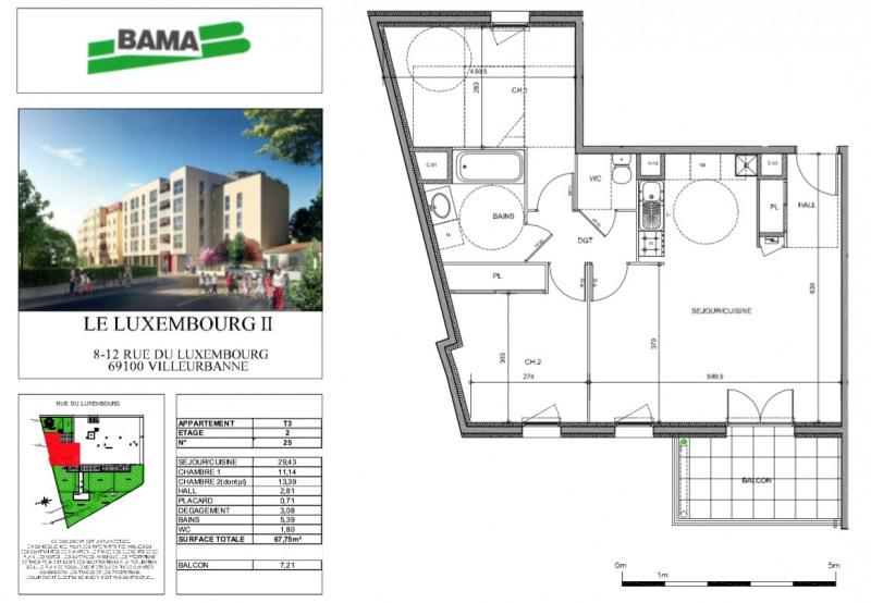Location appartement Villeurbanne 830€ CC - Photo 5