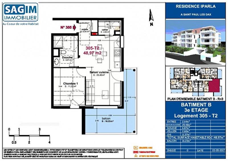 Vente appartement Saint paul les dax 137000€ - Photo 3
