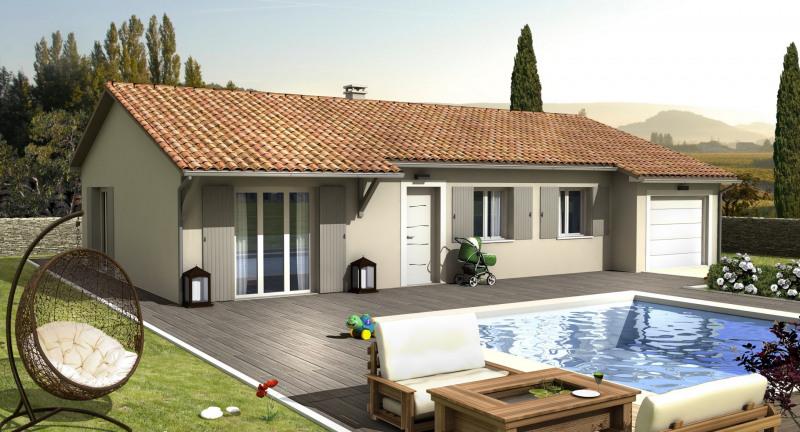 Maison  4 pièces + Terrain 463 m² Chateauneuf sur Isere par VILLAS CLUB