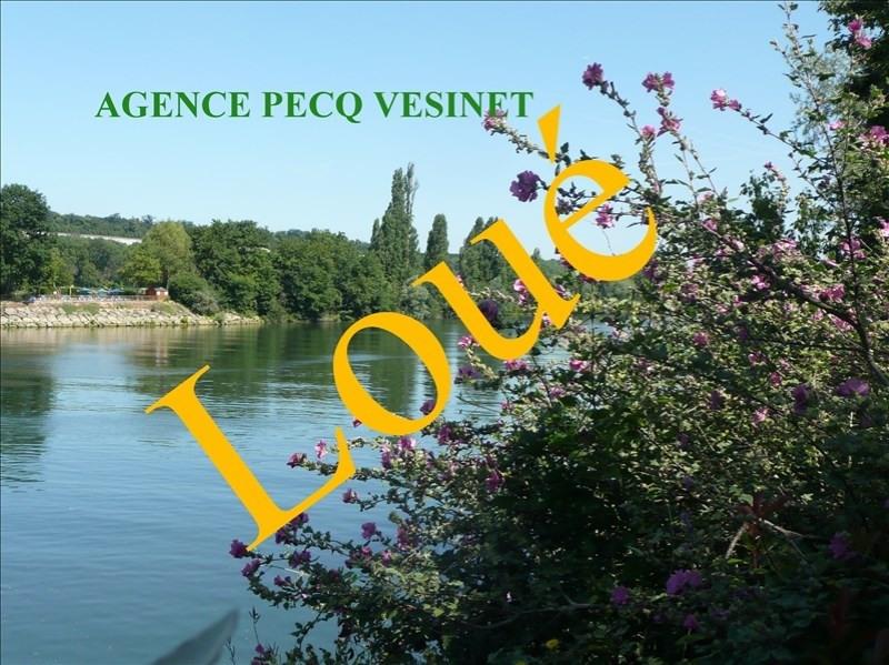 Location appartement Le pecq 750€ CC - Photo 1