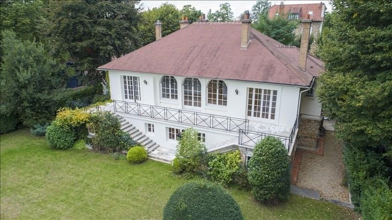 Revenda residencial de prestígio casa Croissy sur seine 2190000€ - Fotografia 1