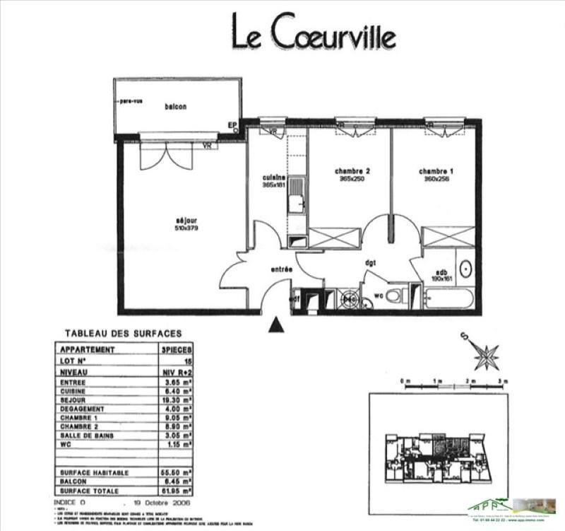 Location appartement Juvisy sur orge 940€ CC - Photo 2