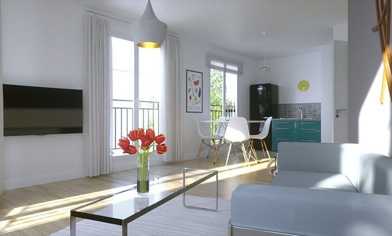 Sale apartment Suresnes 564 500€ - Picture 1