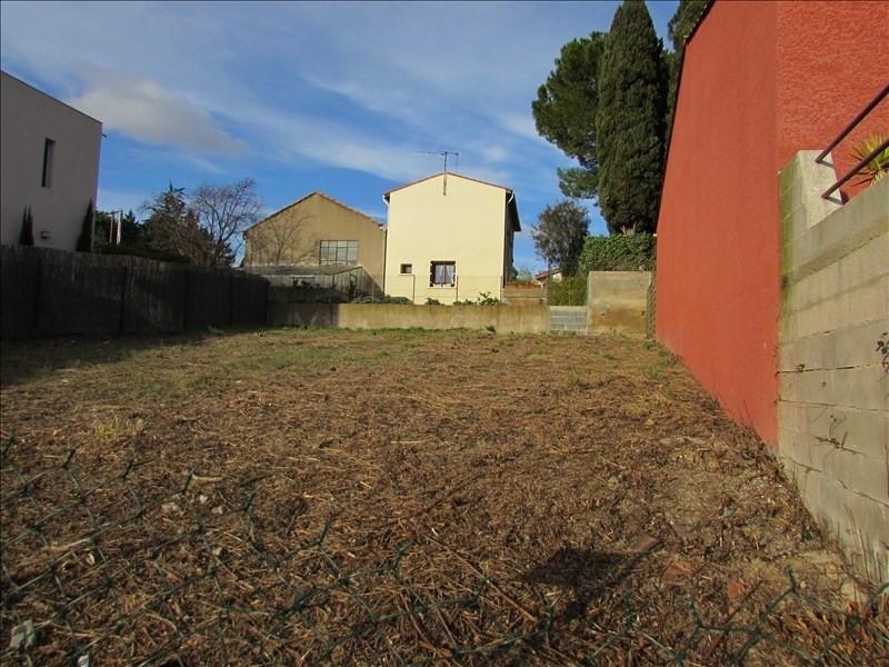 Vente terrain Beziers 79000€ - Photo 2