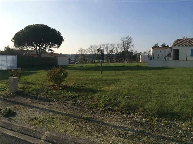 Vente terrain St vincent sur jard 99000€ - Photo 1