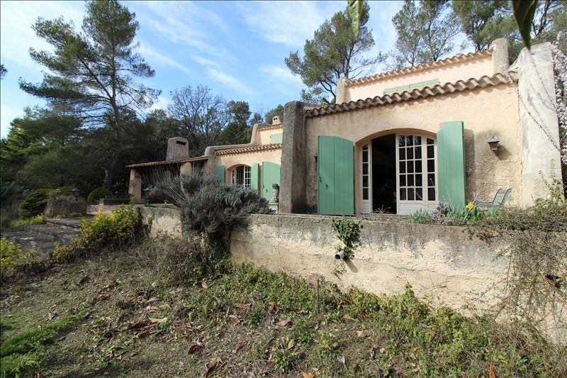Vente de prestige maison / villa Simiane collongue 840000€ - Photo 4