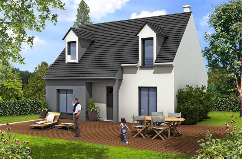 Maison  5 pièces + Terrain 420 m² Saint Rémy Lès Chevreuse (78470) par MAISONS BARILLEAU