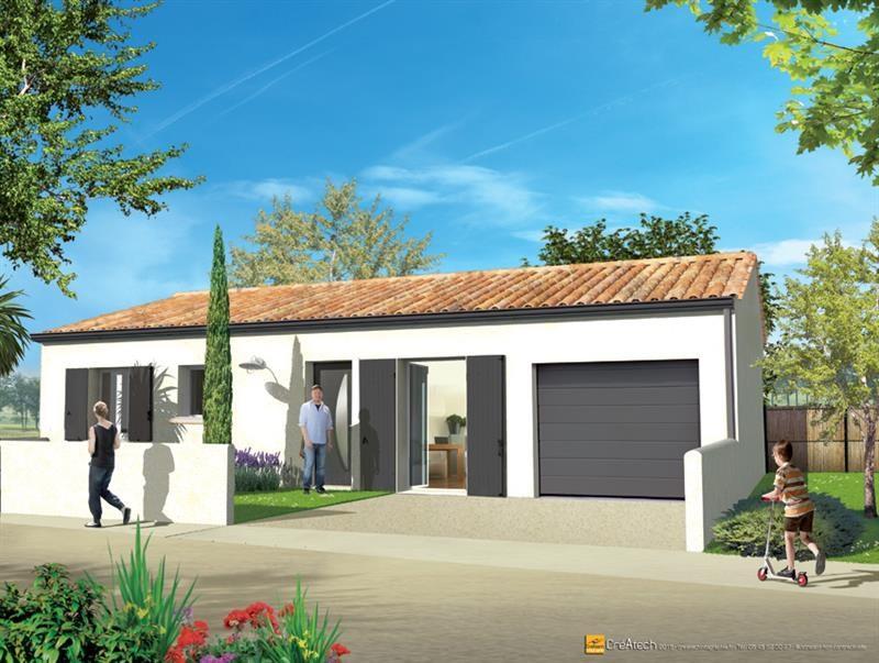 Maison  3 pièces + Terrain 348 m² Angliers par LES ARTISANS CONSTR CHARENTAIS