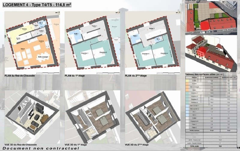 Vente appartement Niort 252280€ - Photo 1