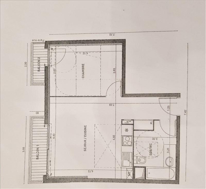 Sale apartment Châtillon 315000€ - Picture 3