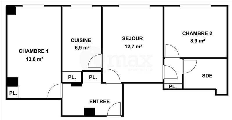 Sale apartment Courbevoie 340000€ - Picture 5