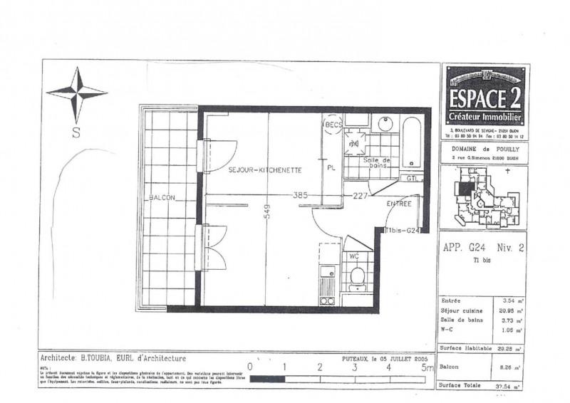 Vente appartement Dijon 100500€ - Photo 1