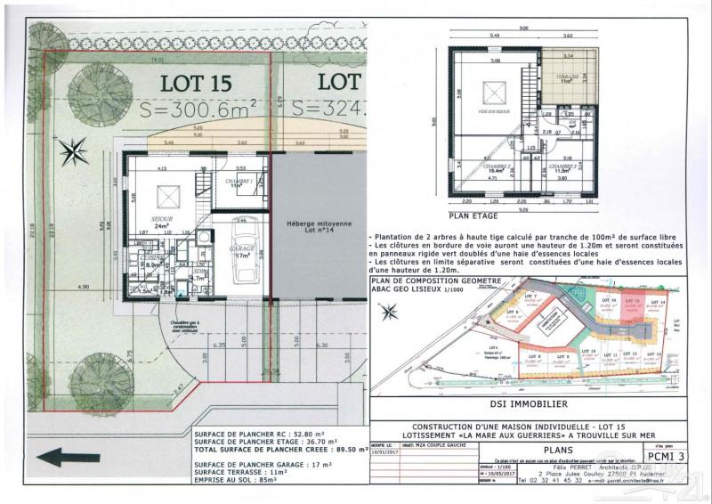Verkoop  huis Trouville sur mer 299500€ - Foto 4