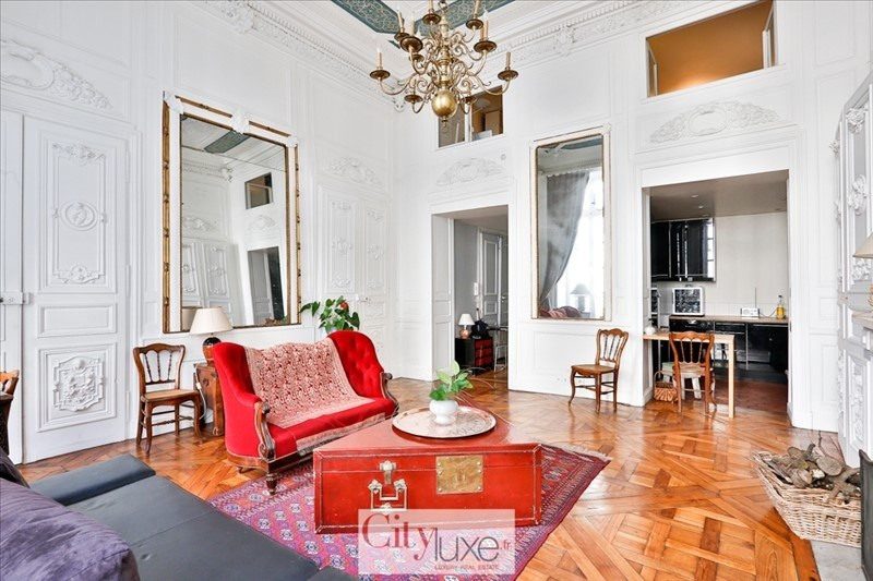 Deluxe sale apartment Paris 9ème 1 295 000€ - Picture 1