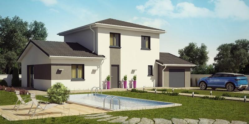 Maison  5 pièces + Terrain 700 m² Corbelin par DEMEURES CALADOISES