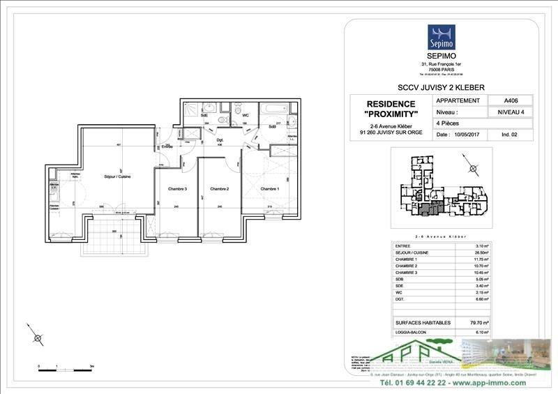 Produit d'investissement appartement Juvisy sur orge 312000€ - Photo 4