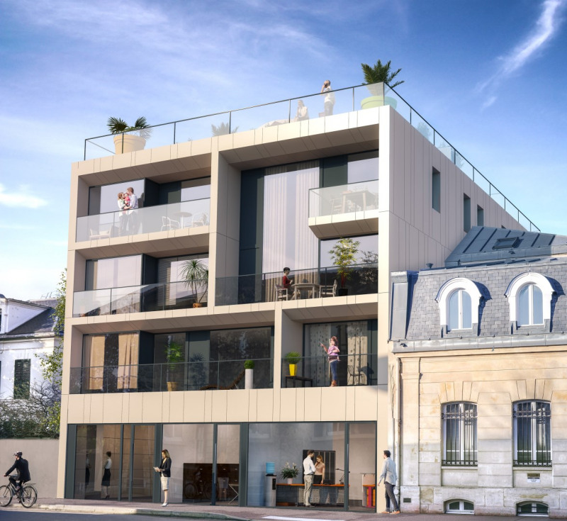 R sidence majesty programme immobilier neuf sceaux for Residence immobilier