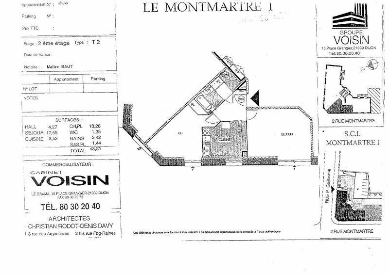 Location appartement Dijon 583€ CC - Photo 5