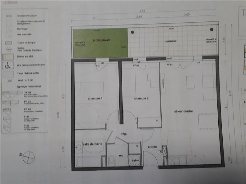 Vente appartement Marsillargues 166000€ - Photo 3