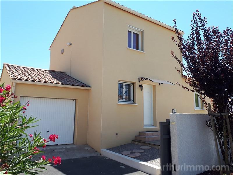 Vente maison / villa St laurent d aigouze 312170€ - Photo 1