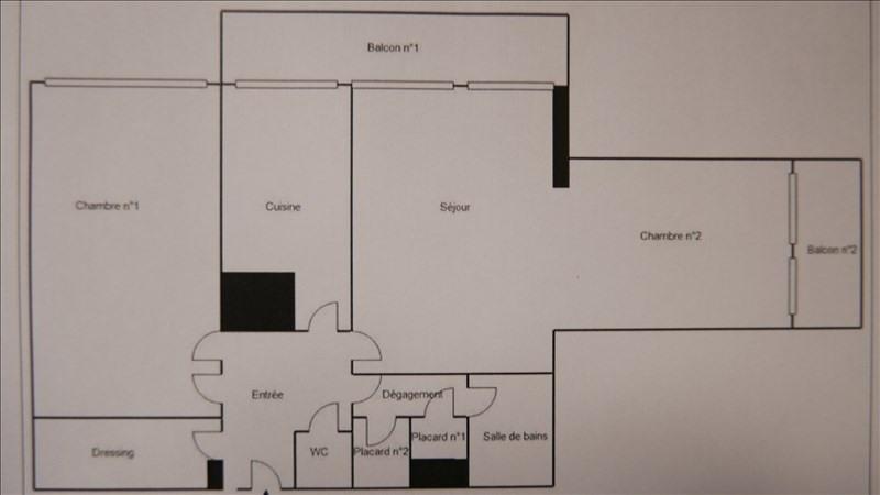 Vente appartement Paris 15ème 453270€ - Photo 2