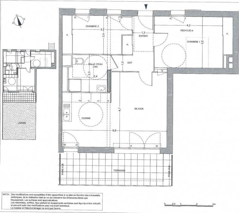 Vente appartement Sainte-geneviève-des-bois 249000€ - Photo 7