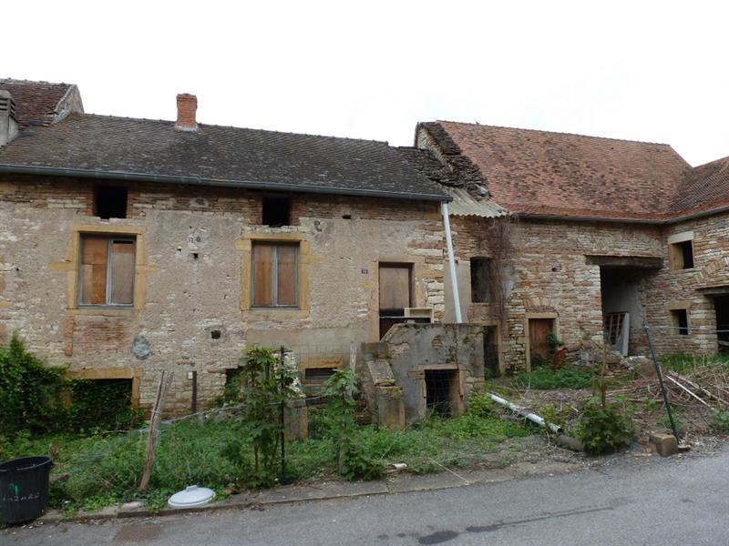 Verkoop huis 4 vertrekken cormatin frankrijk 80 m2 65 000 - Huis stenen huis ...