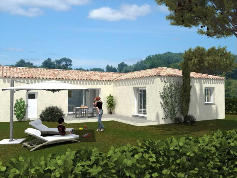 Maison  3 pièces + Terrain 450 m² Nages-et-Solorgues par Domitia Construction