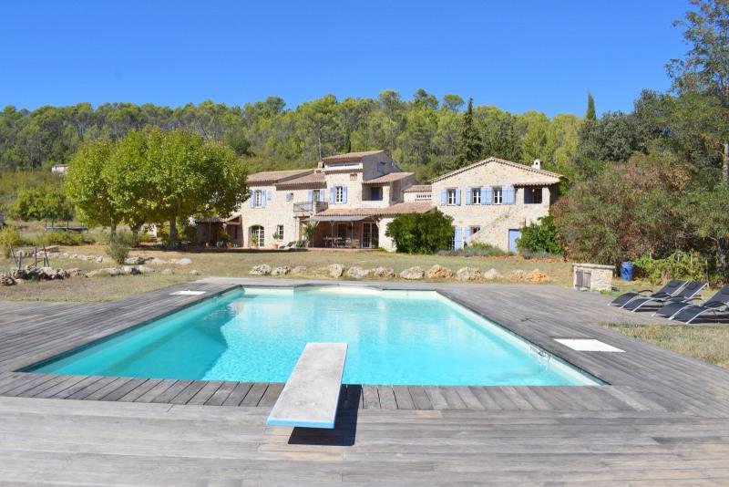 Deluxe sale house / villa Le canton de fayence 2100000€ - Picture 1