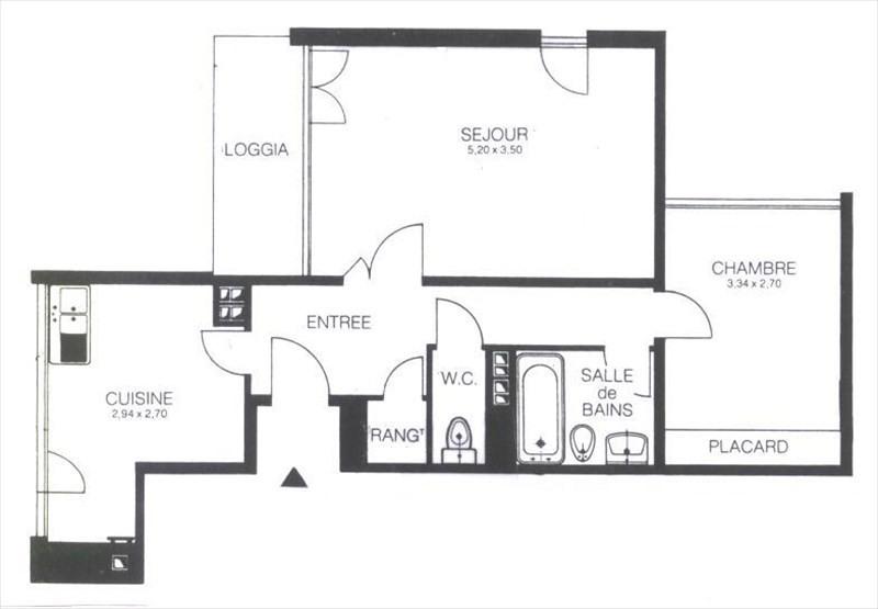 Location appartement Les ulis 760€ CC - Photo 8