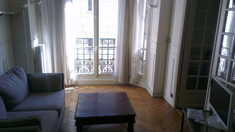 Rental apartment Paris 17ème 1 200€ CC - Picture 2