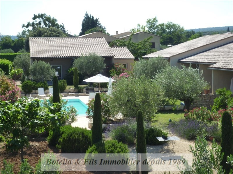 Deluxe sale house / villa Goudargues 1 265 000€ - Picture 1