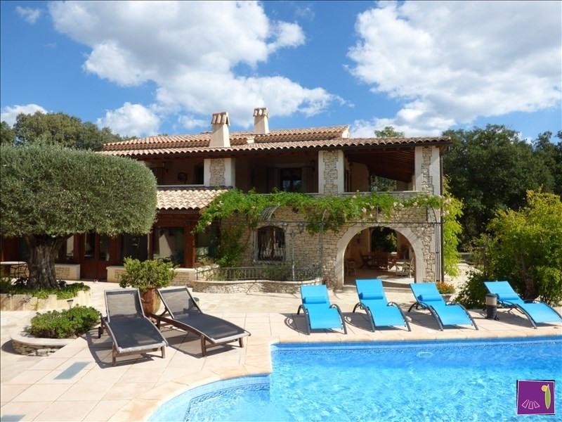 Immobile residenziali di prestigio casa Uzes 1275000€ - Fotografia 8
