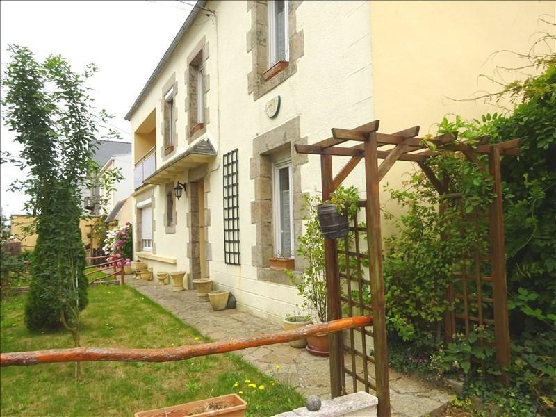 Sale house / villa Lannilis 125600€ - Picture 1
